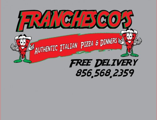 Food Franchescos Pizza Banner